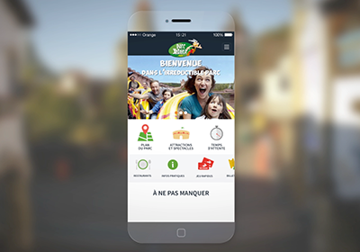 Application Parc Asterix – Case Study